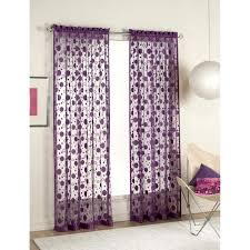 Curtains With Purple In Them Purple Walls Curtains Picture Aubergine And