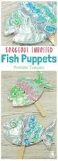 gorgeous embossed foil fish craft kids craft room