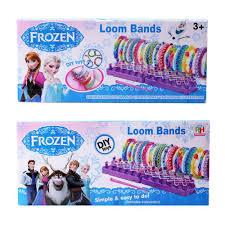 in stock frozen fun colourful loom bands diy bracelets rubber