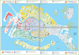 venice map venice sightseeing map