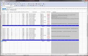 Options Trading Journal Spreadsheet by Options Excel
