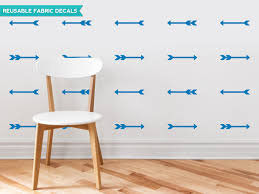 amazon com sunny decals arrow fabric wall decals set of 24 amazon com sunny decals arrow fabric wall decals set of 24 gray home kitchen