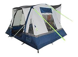 Motorhome Awning Reviews Olpro Cubo Breeze Inflatable Campervan Awning Blue Grey 240 Cm
