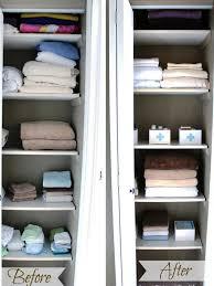 linen closet organizing ideas linen closet ideas u2013 three