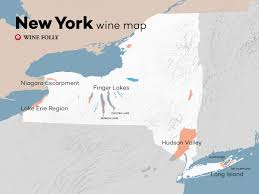 Upstate Ny Map Upstate New York Wineries Map New York Map