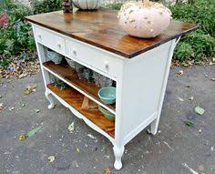 Kitchen Island Out Of Dresser - turn an old dresser into useful kitchen island great diy ideas