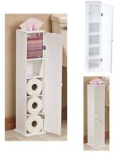 Toilet Paper Storage Cabinet Wood Toilet Paper Storage And Covers Ebay
