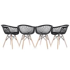 Esszimmerstuhl Yoga Design Stuhl Retro Stuhl Esszimmerstuhl Sitzgruppe Bürostuhl 4 Set