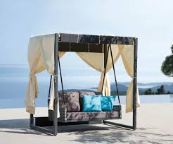 Pool Beds Furniture Furniture Wicker Outdoor Bed Canopy Day Bed Outdoor Daybed
