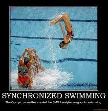 Synchronized Swimming Meme - demotivational poster synchronized swimming synchro pinterest