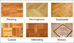 parquet flooring patternstypes of wooden floor finishes types wood