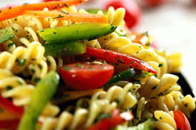 Cold Pasta Salad Dressing | cold pasta salad with italian dressing scrambled chefs