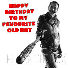 the walking dead birthday cards personalised for any walking dead