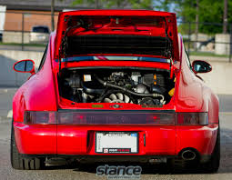 stanced porsche 964 featured ride pfaff tuning u0027s 964 stance is everything