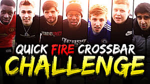 Challenge Miniminter Youtubers Crossbar Challenge