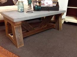 reclaimed wood coffee table with wheels concrete reclaimed wood coffee table spare room