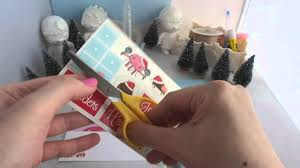 how to make giant christmas card origami handle glue stick
