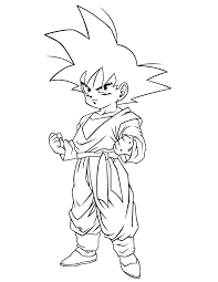 cool dragon ball gohan coloring u0026 coloring pages