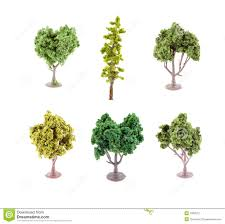 miniature artificial trees stock photography image 7660672