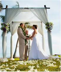 wedding chuppah hawaii weddings planning event planning