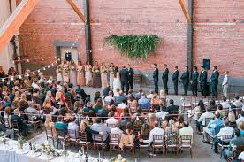 Cheap Wedding Venues Los Angeles Romantic Los Angeles Warehouse Wedding Lauren Jonathan Green