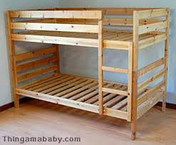 Wood Bunk Bed Plans by A Tale Of Four Beds And A Bed Rail Thingamababy