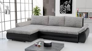 canapé d angle gris tissu canapé d angle convertible gris intérieur déco