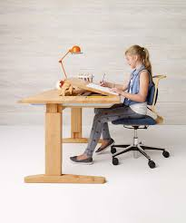 Kids Chair For Desk by Solid Wood Children U0027s Desks And Swivel Chairs Team 7