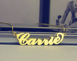 my name jewelry my name necklace etsy