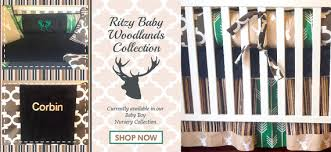 Baby Deer Crib Bedding Stag Boy Crib Set Woodlands Crib Set Rustic Boy Crib Set