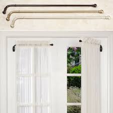 Curtain Rods Images Inspiration with Hinged Curtain Rod Curtains Ideas
