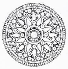 100 rose window coloring page 194 best mandala u0026 coloring