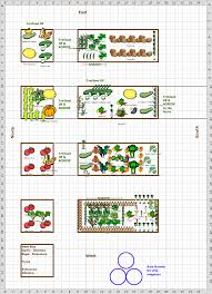 vegetable fruit garden layout decorating clear