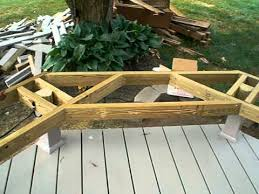 Wooden Bench Seat Plans by Deck Designs With Benches C Cd D Deck Benches Patio G Deck Bench