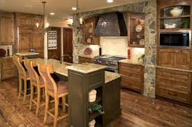 kitchen rustic interior interiors designs design eiforces