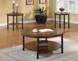 coffee table end table set 57 3 piece round coffee table set modern 3 piece round coffee end