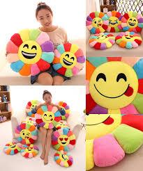 Decorative Seat Cushions Visit To Buy Flower Shape Decorative Pillows Emoticonos Chair