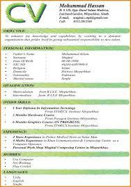 experience format resume 6 cv format resume thistulsa