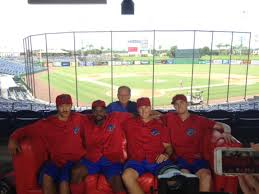 The Red Sofa The Red Sofa Hits It Out Of The Park With The Clearwater Threshers