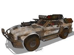 off road mustang post apocalyptic u002767 ford mustang ground vehicles pinterest