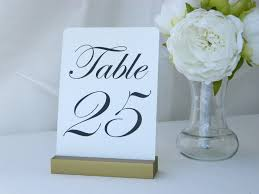 diy table number holders wedding tables diy wedding reception table number holders
