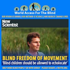 World Access For The Blind Daniel Kish Und World Access For The Blind Anderes Daniel Kish