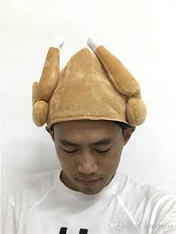 turkey hats plush thanksgiving day roasted turkey