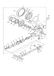 1991 yamaha v max 1200 vmx12b drive shaft parts best oem drive