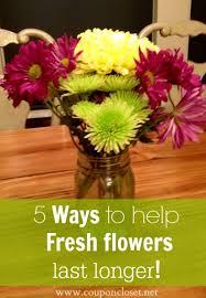 fresh cut flowers 5 ways to help your fresh cut flowers last longer one