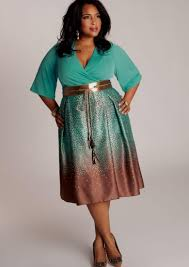 dress for plus size pluslook eu collection