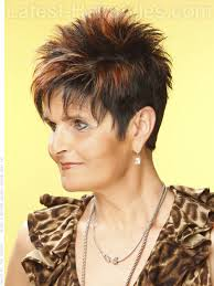 spiky haircuts for older women collections of pixie hairstyles for women over 60 cute