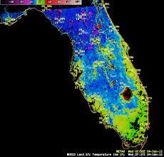 temperature map of florida below freezing temperatures across much of florida cimss