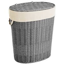 Wicker Clothes Hamper With Lid Collin Gray Wicker Laundry Hamper Pier 1 Imports