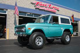 ford bronco 1977 ford bronco fast lane classic cars